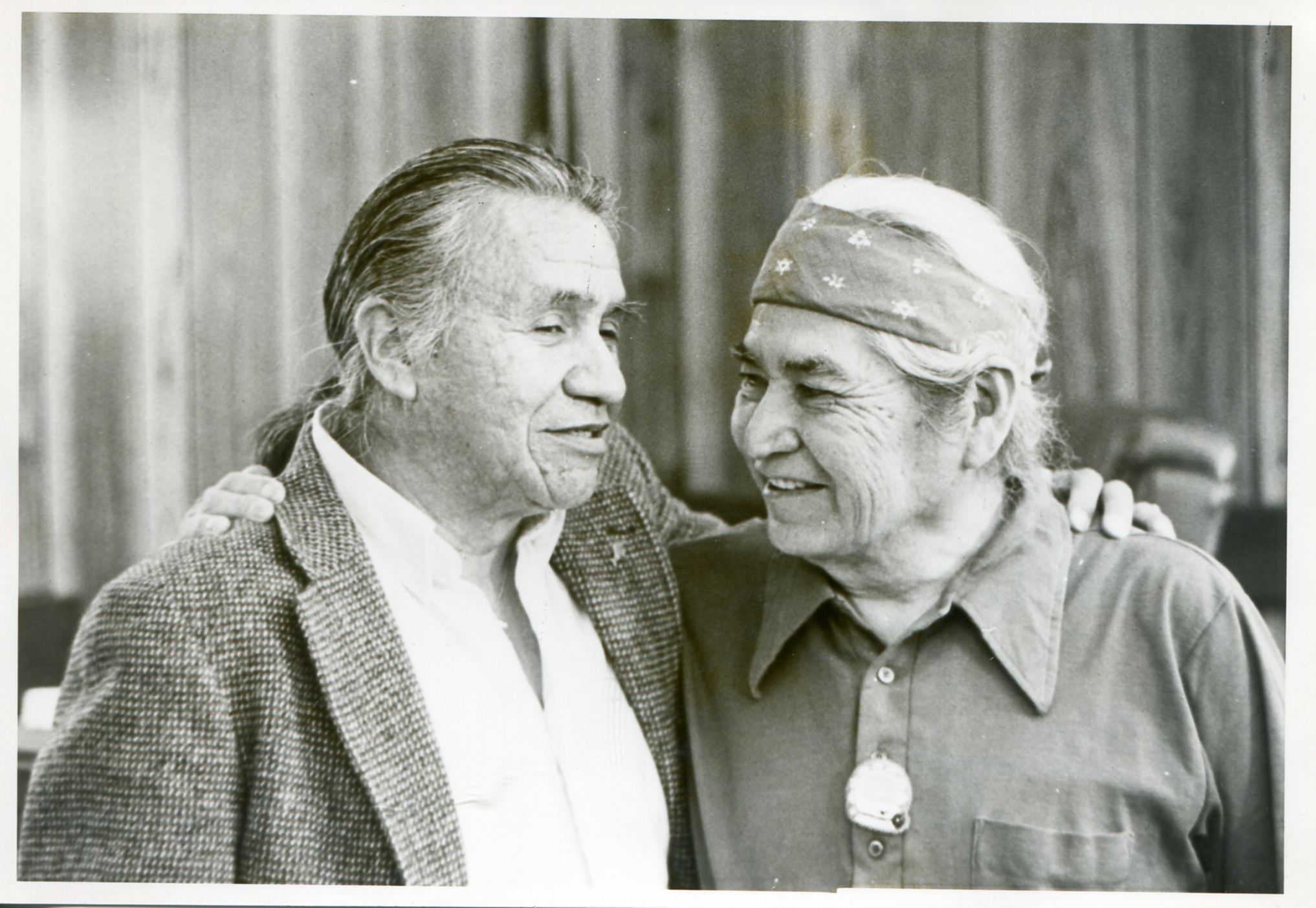 Billy Frank Jr and David Sohappy in Yakama Tribal Court
