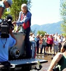 Russell, Yakama elder, helps sockeye return to Lake Cle Elum